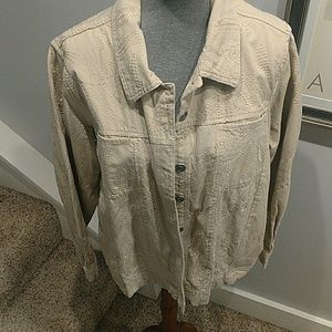 Tan Lightweight Jean Jacket